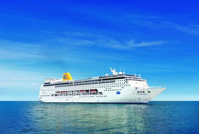 Costa slow cruise negli Emirati