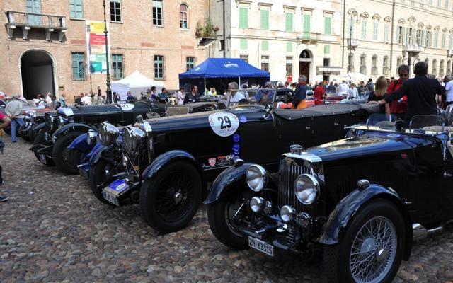 Foto Mantova: al via il Gran Premio Nuvolari