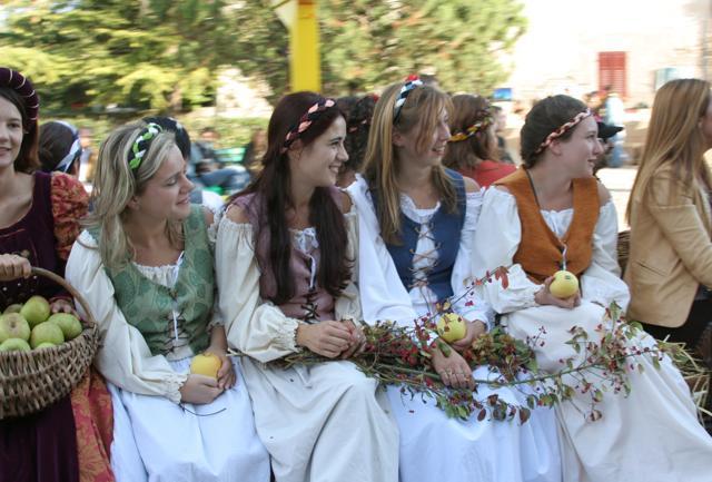 Torna Pomaria, la festa delle mele