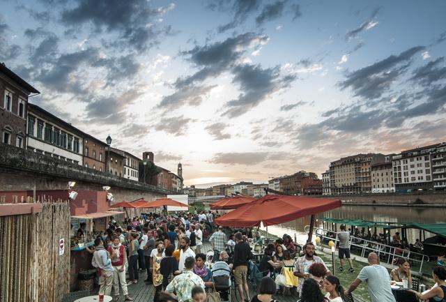 Arno, l'anima liquida di Pisa