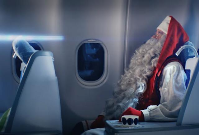 Un aereo per Babbo Natale