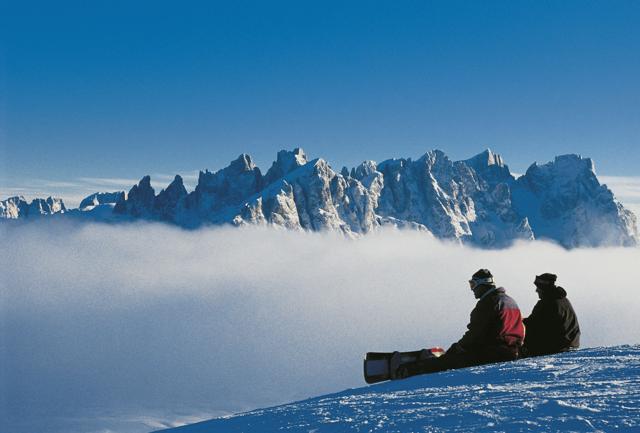Val di Fassa: sciare tra  le vette delle Dolomiti