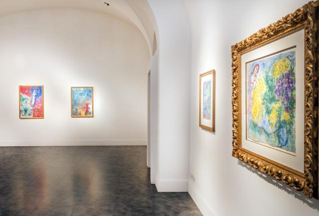 Marc Chagall:  10 opere da scoprire nella sede milanese di  Artcurial