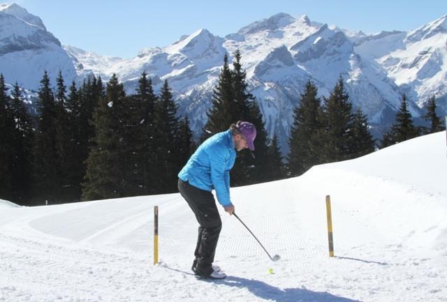 Golf sulla neve: il boom del green in bianco. Ecco quando e dove