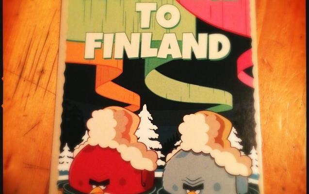 Foto In Finlandia con gli Angry Birds