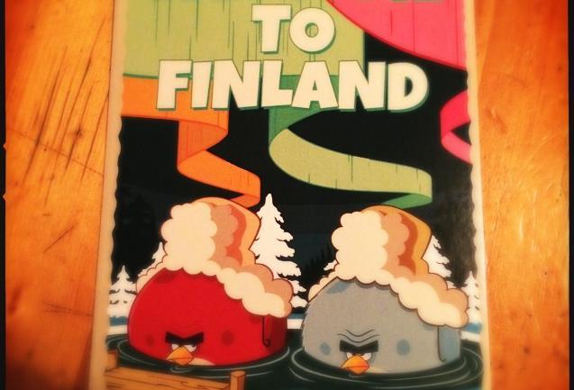 In Finlandia con gli Angry Birds