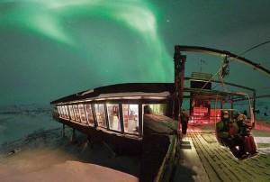 Abisko: il tempio delle aurore boreali