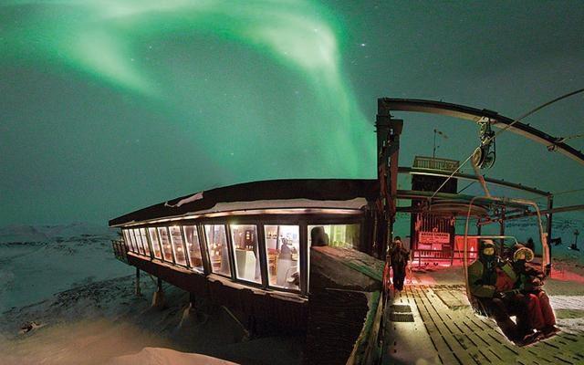 Foto Abisko: il tempio delle aurore boreali