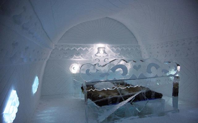 Foto Brivido freddo: una notte nel primo, originale (e più bello) degli Ice Hotel
