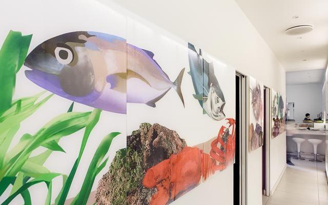 Foto Sushi & fantasia. Una nuova veste per Yoshi a Milano. Firmata Fabrizio Sclavi