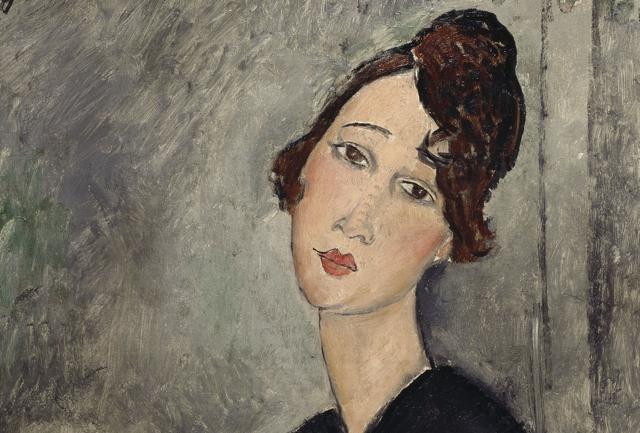 Modigliani e la Bohème di Parigi   alla GAM di Torino