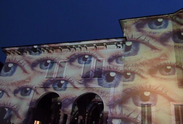 Lo sguardo è arte. Il progetto social-light al Museo della Scienza di Milano