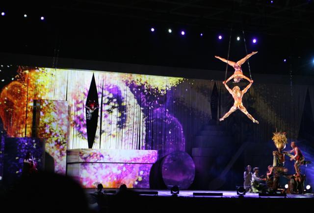 Expo, le notti del Cirque du Soleil