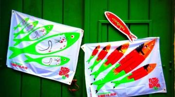 L'altro simbolo di Festas de Lisboa è la sardina, diventata ispiratrice anche per i giovani artisti (foto: Flicker/cristine zanine)