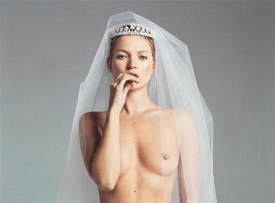 Foto Kate Moss senza veli