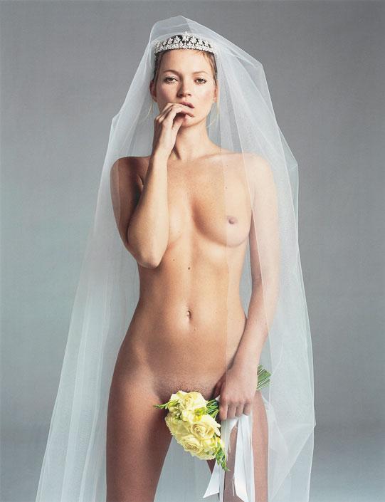 Kate Moss senza veli