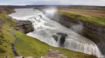 Le spettacolari cascate Gullfoss
