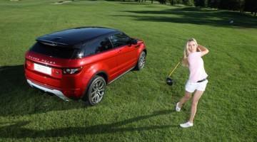 Diana Luna, campionessa di golf. Nel 2011 ha collezionato due vittorie, allo Swiss Open e al German Open Per i suoi spostamento ha scelto Range Rover Evoque, la vettura più compatta, leggera ed eco-friendly mai prodotta da Land Rover, in arrivo in Italia a settembre