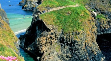 Rede Rope Bridge: Dublino non è lontana dal mare (foto: Causeway Coast and Glens/TourismIrelandImagery)