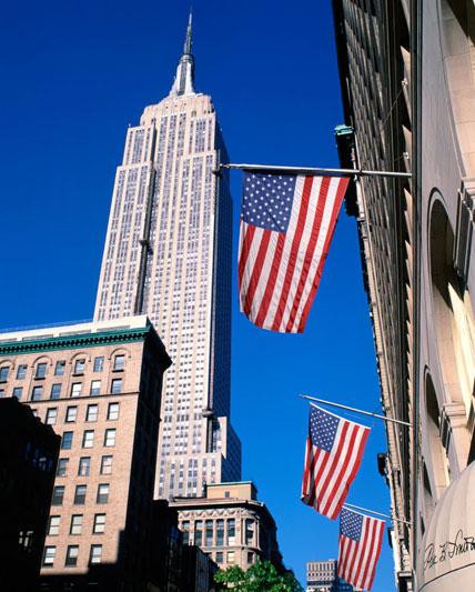 L'Empire State Building è tra i grattacieli-simbolo di New York (foto Alamy/Milestonemedia)