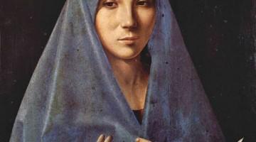 La famosa Annunziata di Antonello da Messina è nella Galleria Regionale di Sicilia a Palazzo Abbatellis