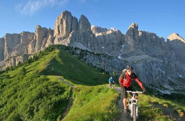 Foto Dolomiti in bici