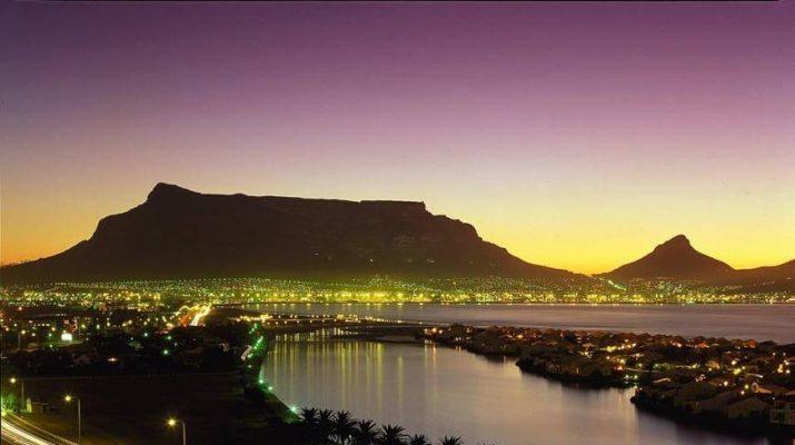 Foto Cape Town, natura e urban life