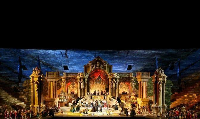 Foto L'opera di Mozart