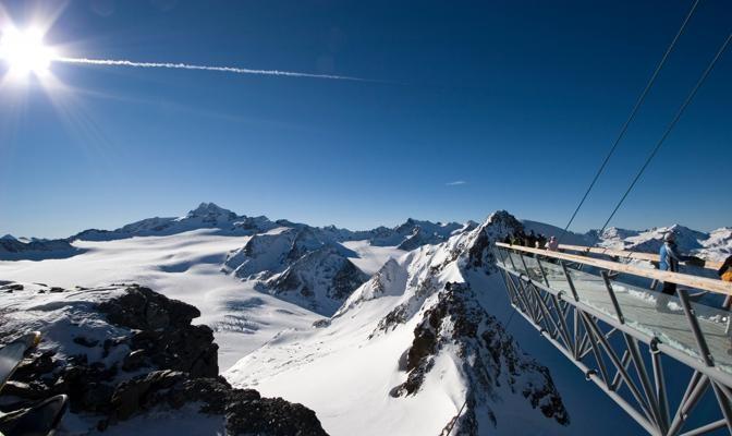 Foto In vetta ai ghiacciai