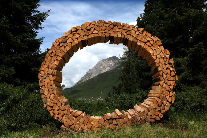 Land Art in Val di Fiemme