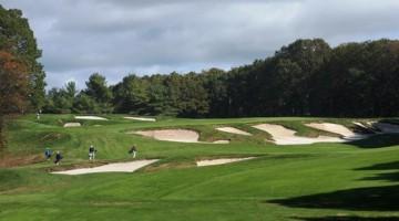 Uno dei cinque campi da golf del Bethpage Park, negli Hamptons