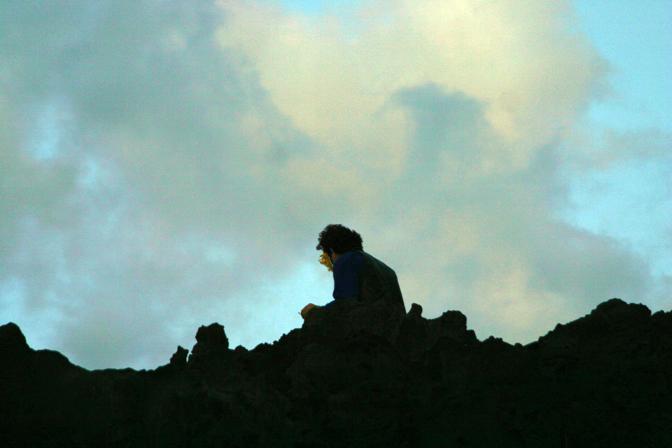 Arte sull'isola-vulcano