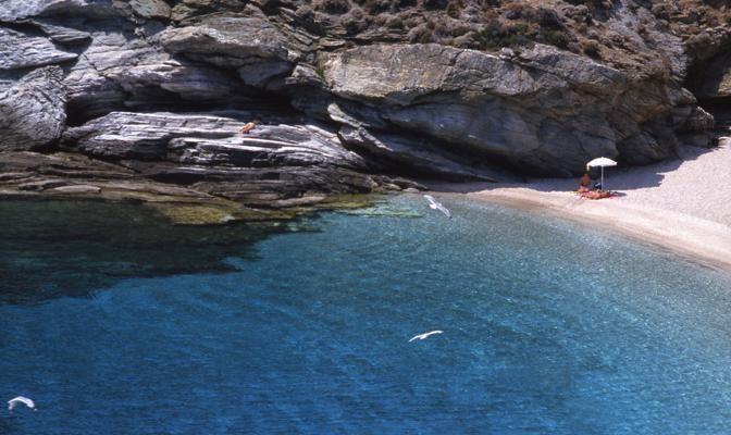 Foto Il mare di Andros