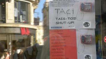 Taci! Tais-toi! Shut-up!, collettiva di artisti italiani a Parigi, nell'ex squat di artisti 59Rivoli