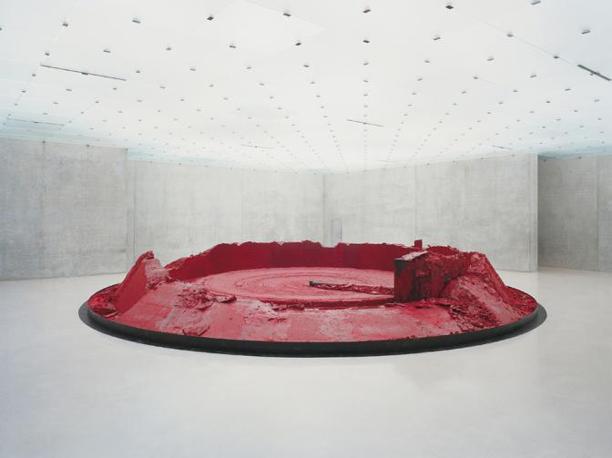 Anish Kapoor, My Red Homeland, 2003