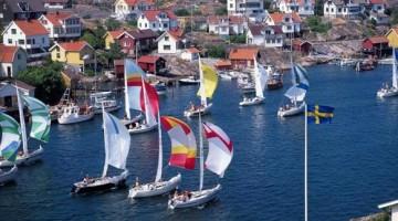 La regata Tjörn che si svolge ad agosto a nord di Göteborg