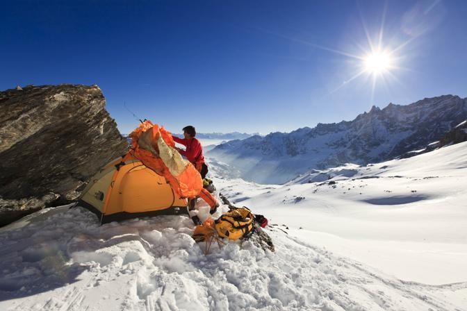 L'impresa dell'alpinista Hervé Barmasse: aprire una nuova via di salita sul Monte Cervino