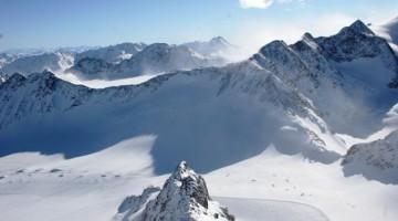 """Pitztal,  la stazione sciistica più """"alta"""" dell'Austria e delle Alpi centro orientali, dove l'inverno non finisce mai"""