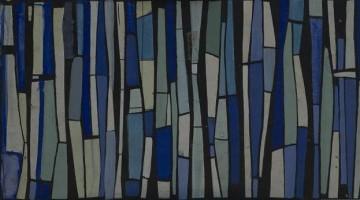 Franco Normanni, Composizione (studio per vetrata)