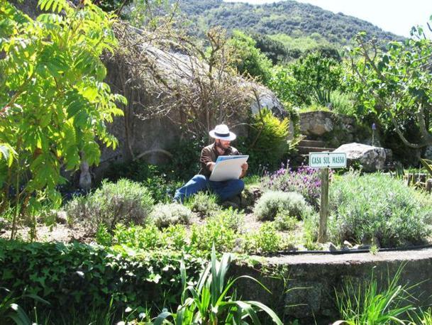 Sull'isola, l'hotel è botanico