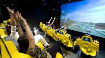 Il Cinema 4D sulle navi MSC