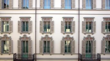La Facciata dell'Hotel Milano Scala