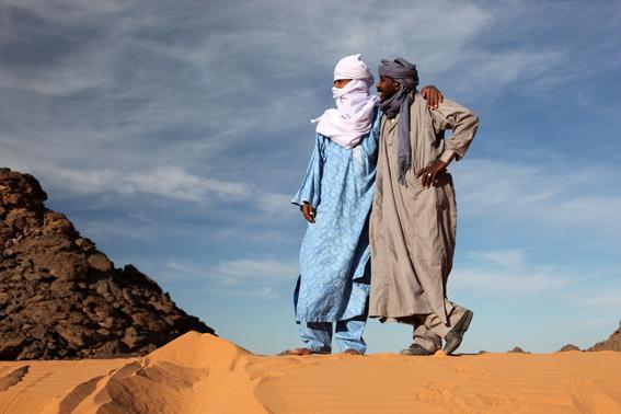 Libia: quasi il 90% della superficie del Paese è costituito dal deserto (foto Carlotta Lombardo)