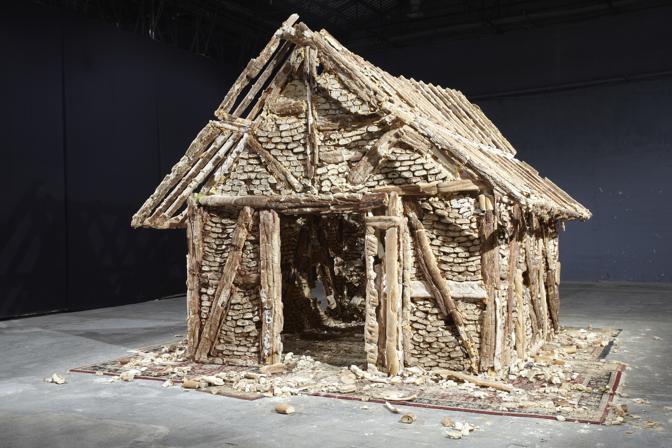 Urs Fischer, House of Bread, 2004. Courtesy Urs Fischer; Il Giardino dei Lauri, Cittˆ della Pieve, Perugia