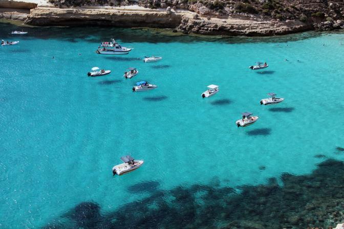 Lampedusa, l'africana