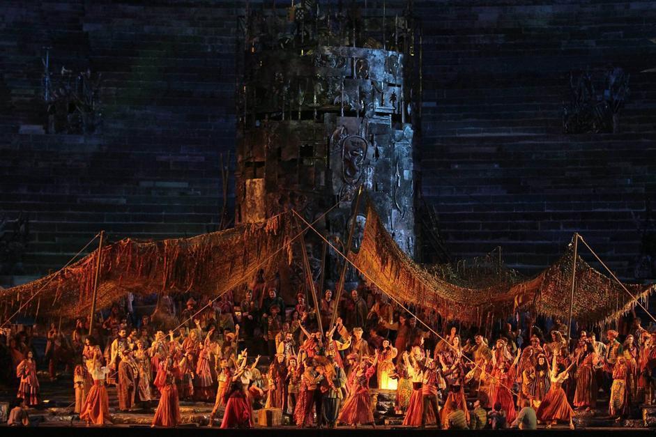 Il Trovatore all'Arena di Verona