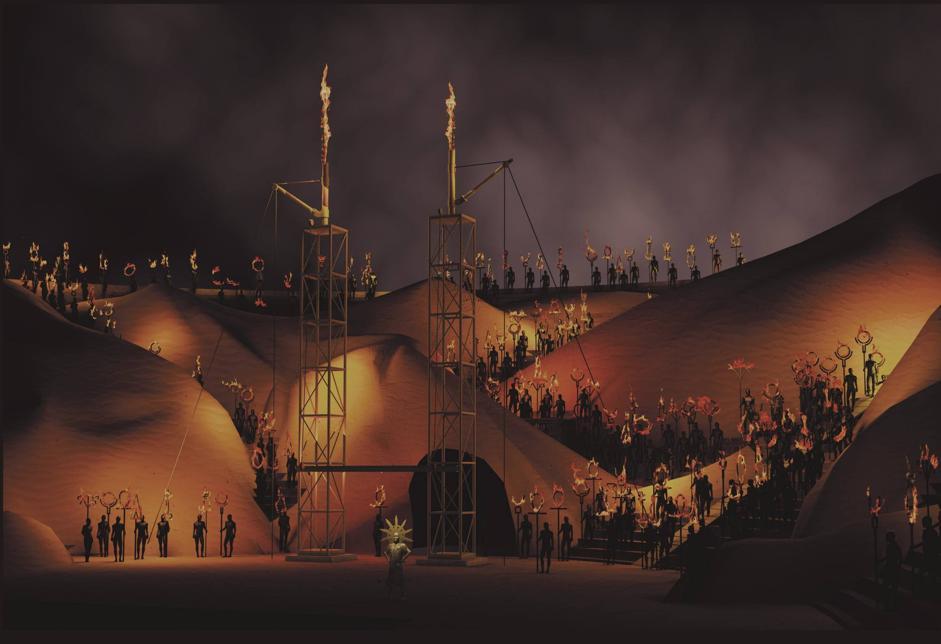 La Fura dels Baus incontra Verdi all'Arena