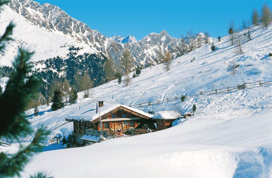 Val Passiria: neve e natura