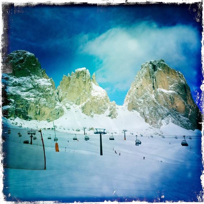 Il backstage dello sci