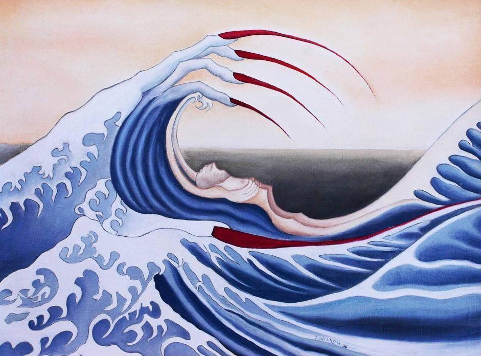 La Grande Onda. Omaggio a Hokusai